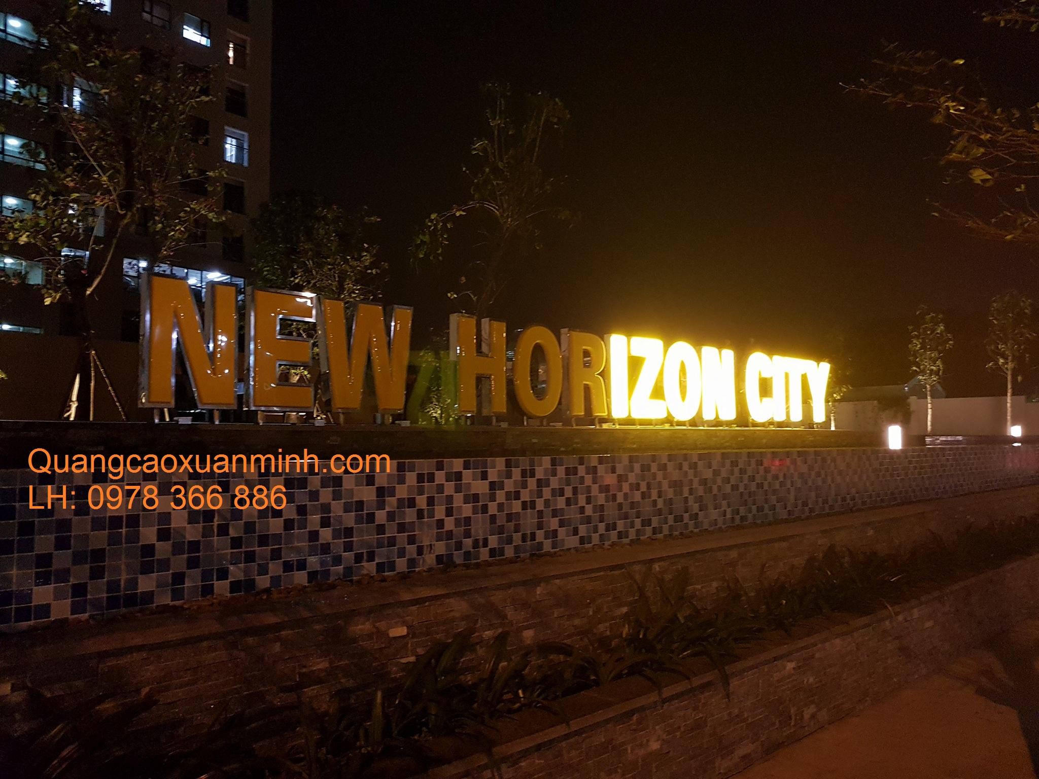 Biển-chữ-New-Horizon-City-Lĩnh-Nam-Hà-Nội