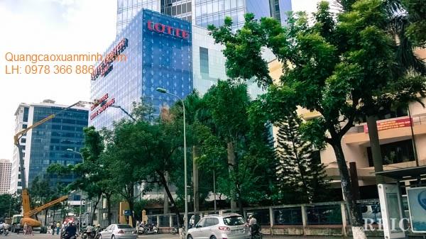 Biển-chữ-Tòa-nhà-Lotte-Liễu-Giai-Hà-Nội