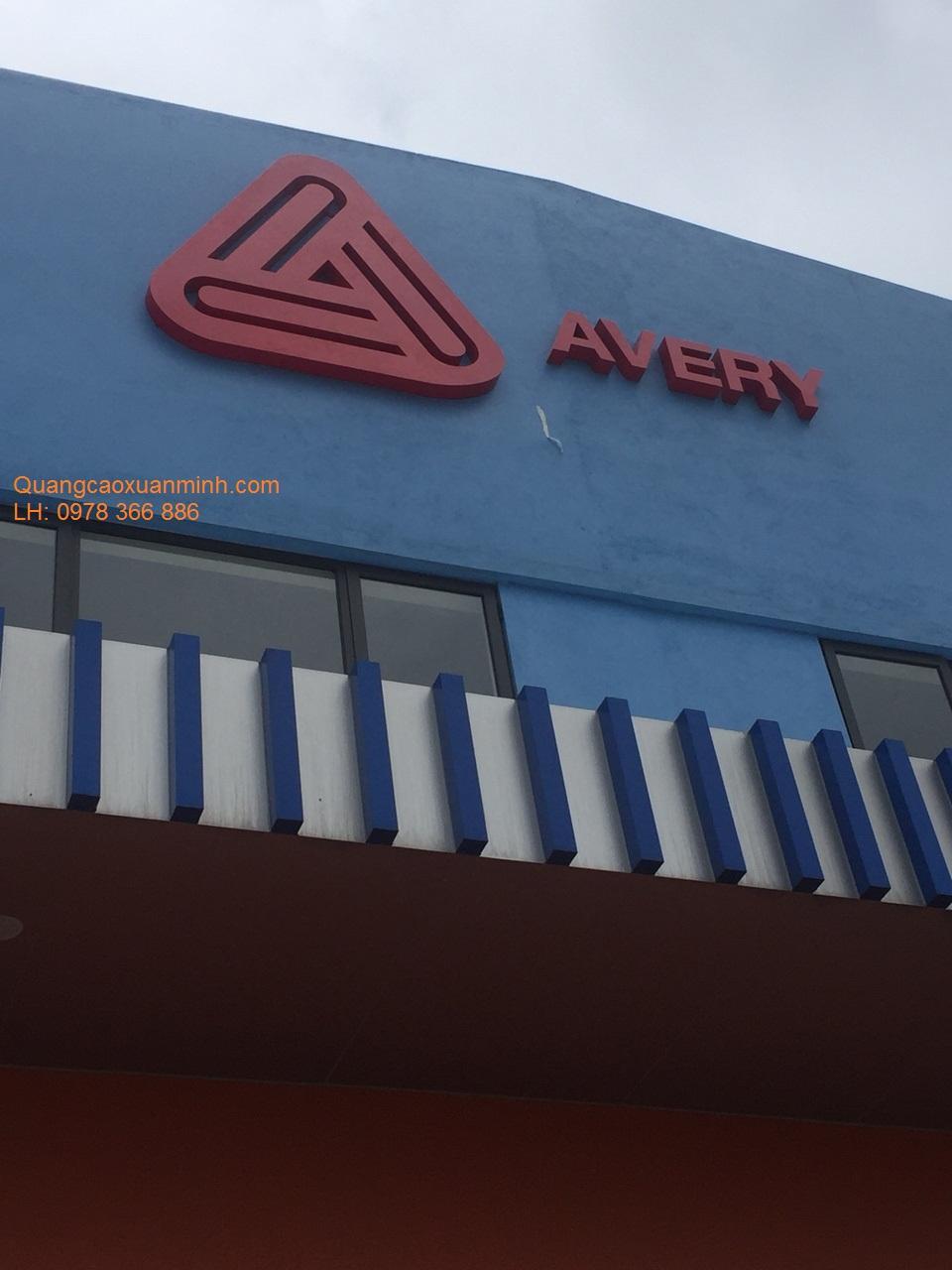 Biển-chữ-nhà-Máy-Avery-KCN-Vsip-Bắc-Ninh