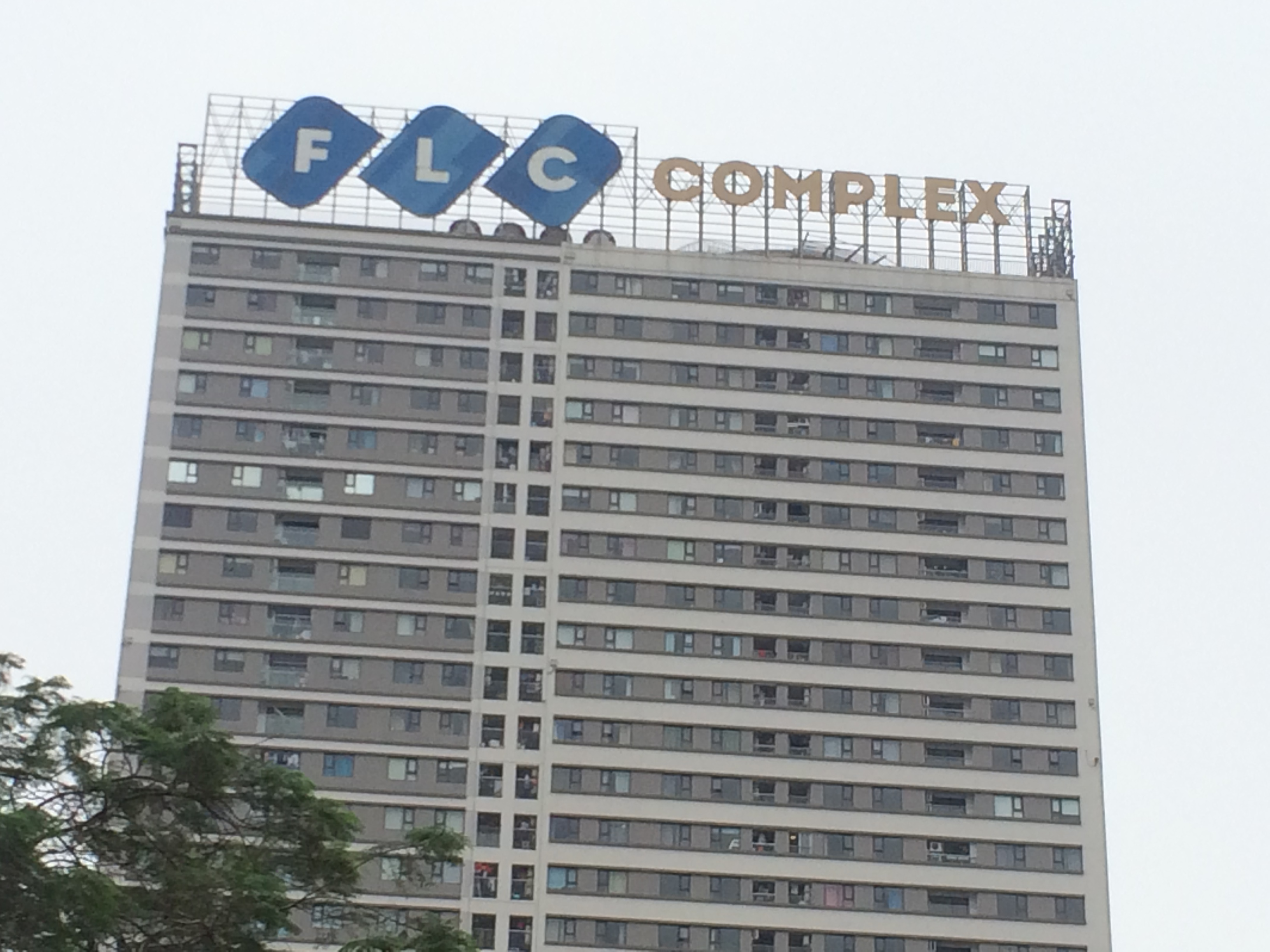 Biển tòa nhà FLC Compex, số 36 Phạm Hùng, Nam Từ Liêm