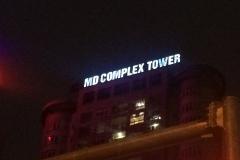 Biển tòa nhà MD Complex Tower, KĐT Mỹ Đình, Hà Nội