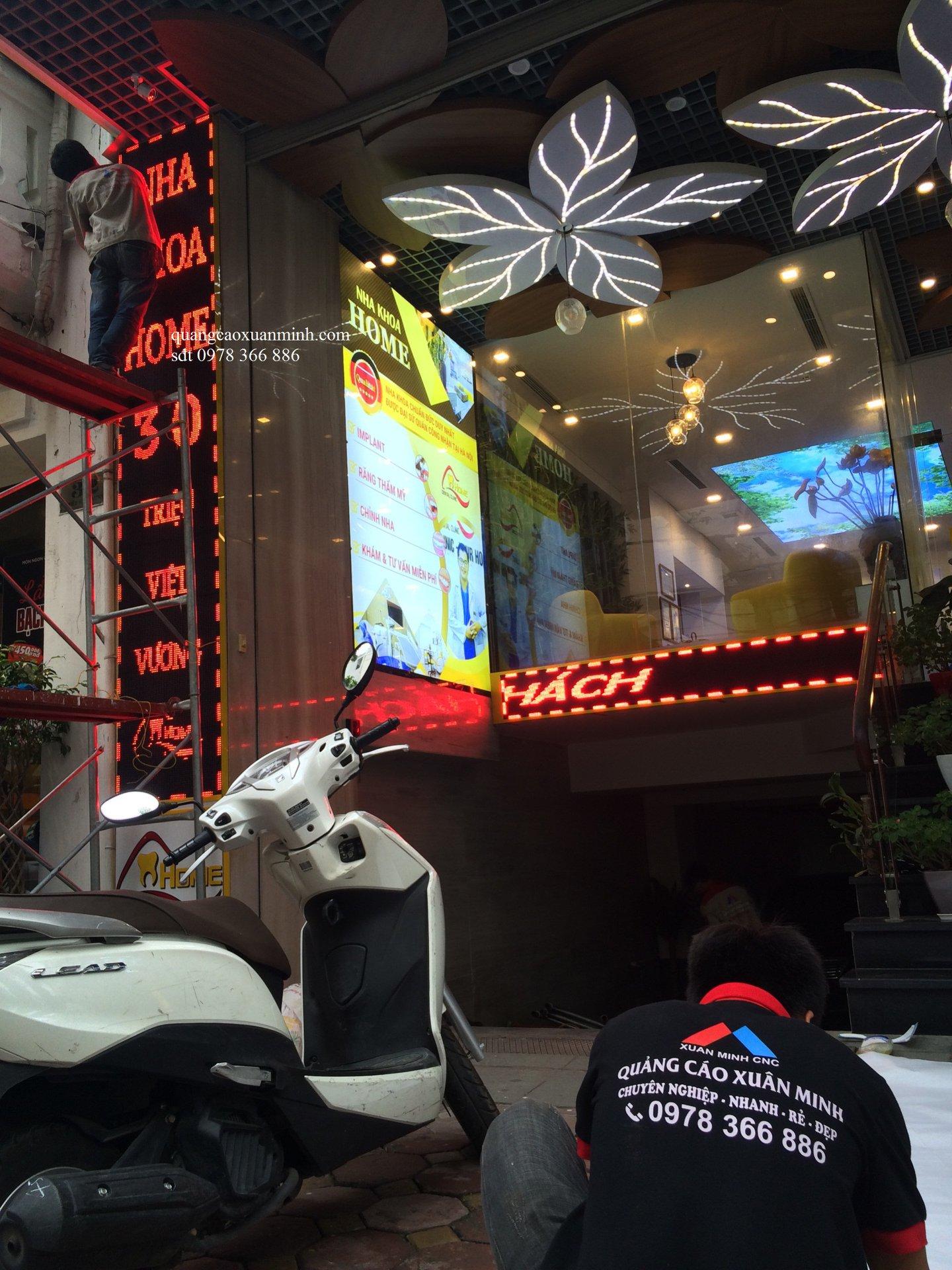 Làm biển led ma trận giá rẻ tại Triệu Việt Vương