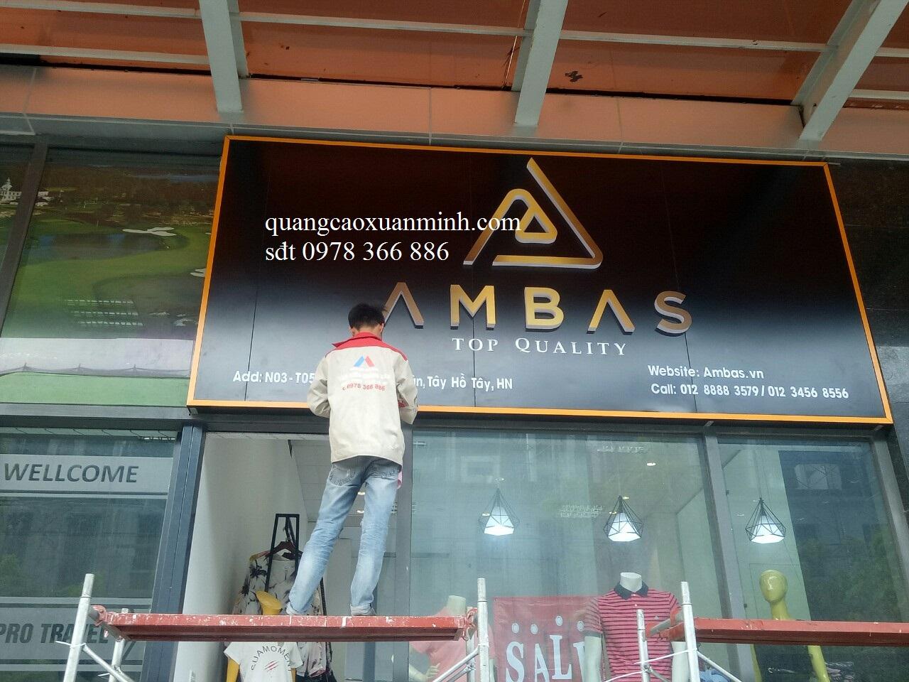 Làm biển quảng cáo tại Phạm Văn Đồng
