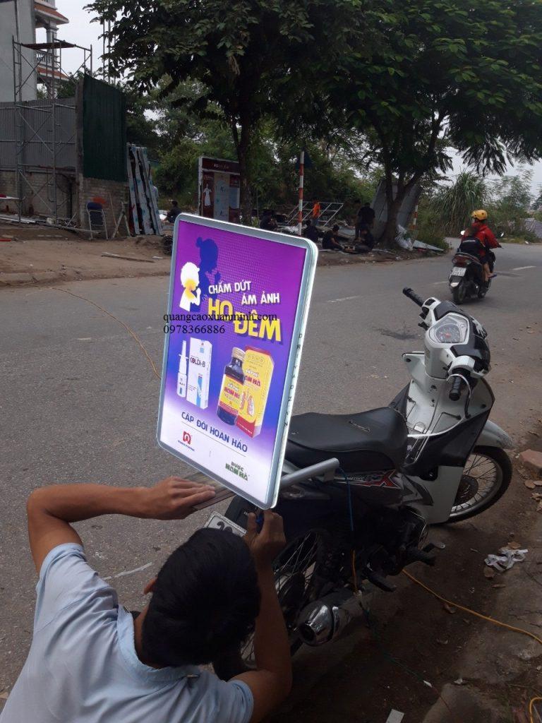 làm biển quảng cáo xe máy