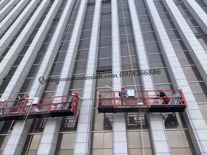 trang trí led tòa nhà tại Hà Nội