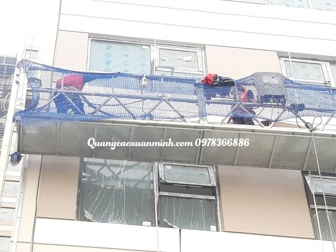 Led viền tòa nhà