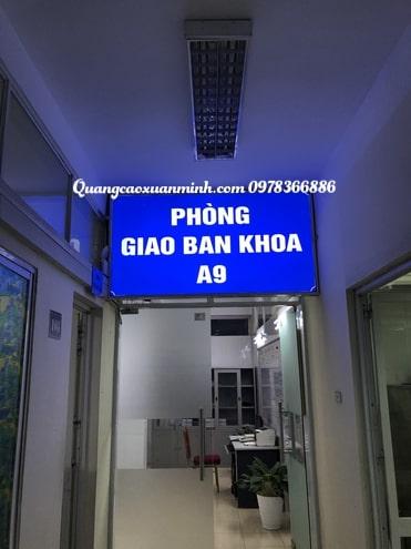 Làm biển quảng cáo bệnh viện