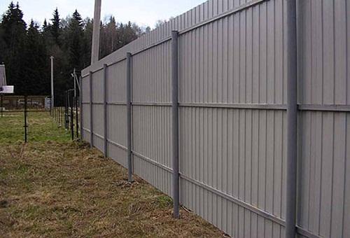 Thi công hàng rào tôn