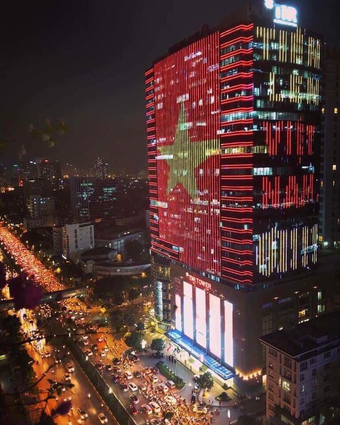 led hiệu ứng tòa nhà giá rẻ