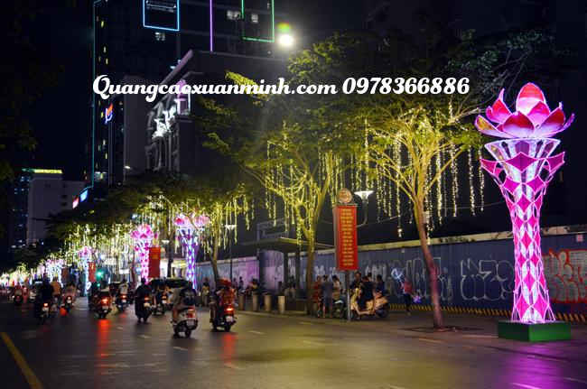 Cột đèn trang trí đường phố