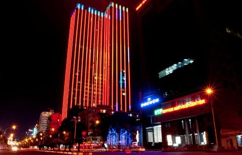 Đèn led trang trí tòa nhà uy tín