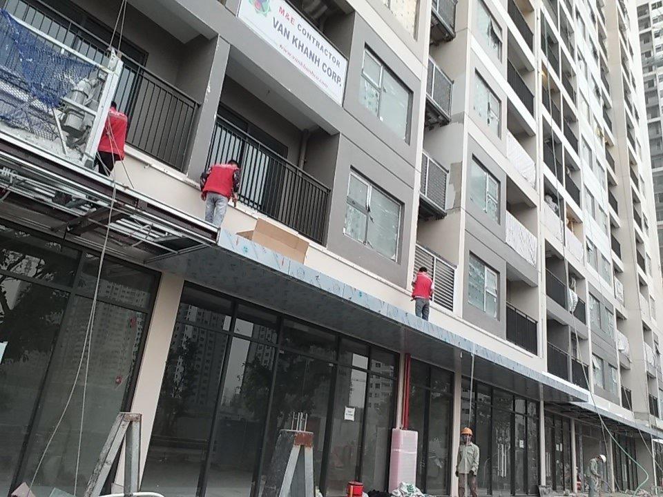 Led hiệu ứng tòa nhà đẹp