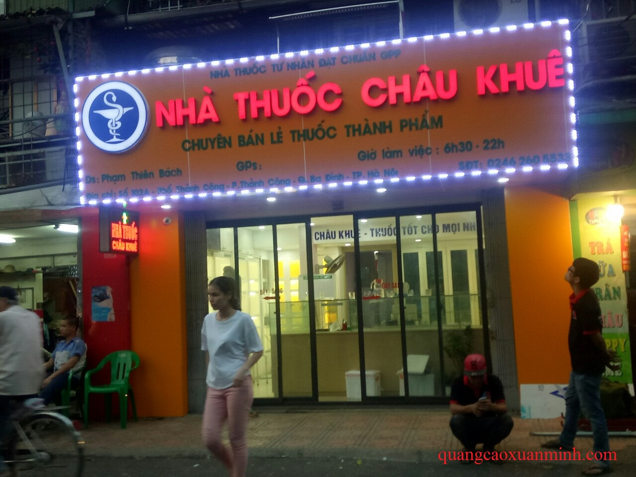 Làm biển quảng cáo giá rẻ nhất tại Hà Nội