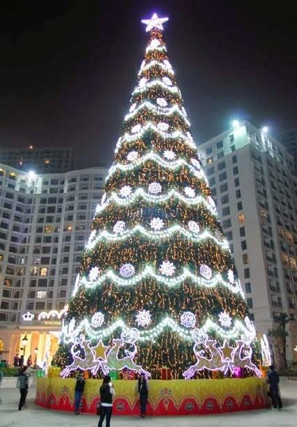 Trang trí Giáng sinh trên cả nước